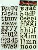 Chipboard distress letters