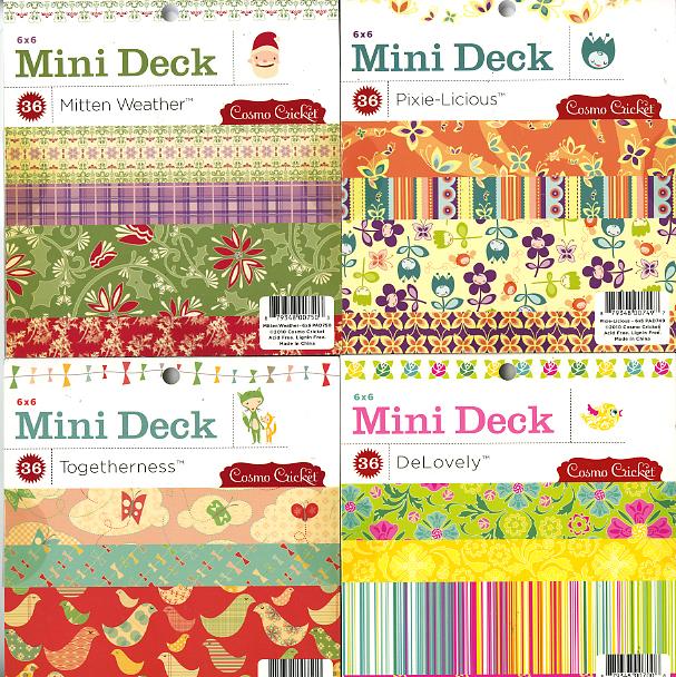 Mini decks cosmo