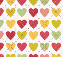 Be my valentine heart paper