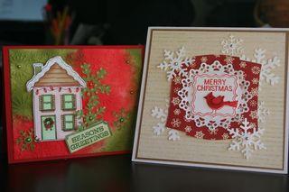 Lesa Christmas cards Hero