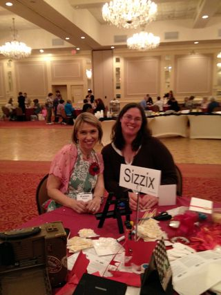 Karen Burniston Sizzix Pop Up