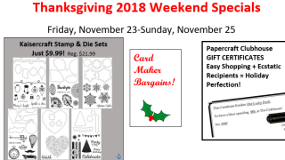 Thanksgiving specials screen 1